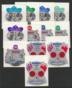 Tonga some MNH shapes