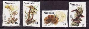 Vanuatu-Sc#364-7- id7-unused NH set-Mushrooms-Fungi-1984-
