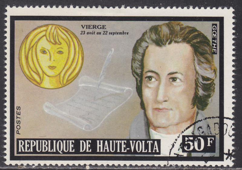 Burkina Faso 316 Famous Men & Zodiac Signs 1973