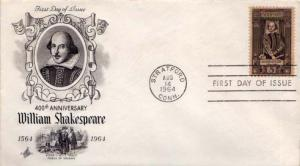 United States, First Day Cover, Great Britain