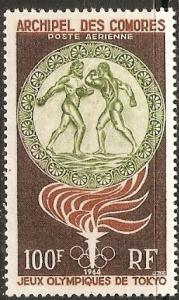 1964 Comoro Islands Scott C12 18th Olympic Games MNH