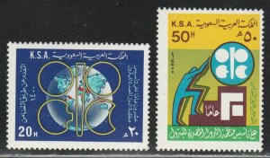 Saudi Arabia #794-795 MNH Full Set of 2 cv $5