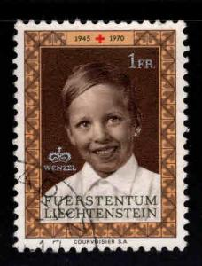 LIECHTENSTEIN Scott 465 Used