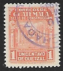 Guatemala # RA22 - Arch of Communication - used   -{BRN17}