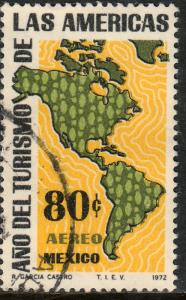 MEXICO C413 Tourism Year of the Americas. Used. (253)