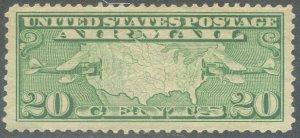 US Scott #C9 Mint, VF, XLH