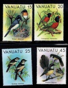VANUATU Scott 319-322 MNH**Bird stamp set