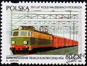 Poland. 1995 80g S.G.3570 Fine Used