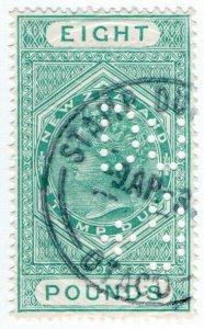 (I.B) New Zealand Revenue : Stamp Duty £8 (Otago)