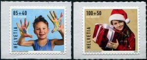 HERRICKSTAMP NEW ISSUES SWITZERLAND Pro Juventute 2020 Carefree Childhood
