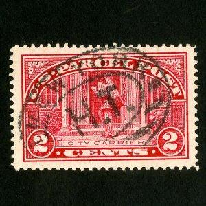 US Stamps # Q2 Jumbo used gem