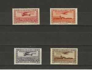 Saar C5-8 Mint Hinged 411022