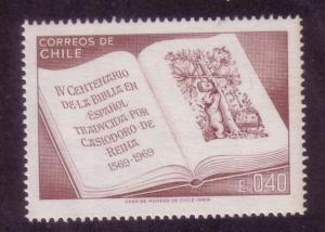 Chile Sc. # 380 MNH the Bible