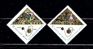 Russia 3193-94 MNH 1966 Set