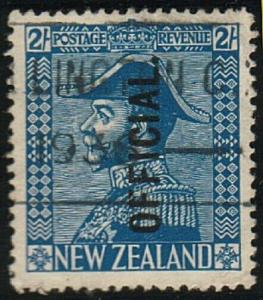 NEW ZEALAND OFFICIAL 1925 Admiral 2/- used ACS cat NZ$200..................72164
