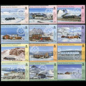 BR.ANTARCTIC TERR. 2003 - Scott# 330-41 Bases Set of 12 NH