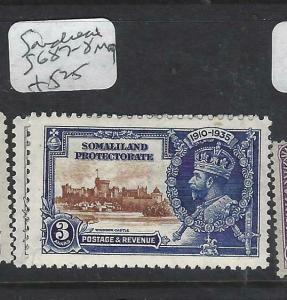 SOMALILAND   (PP2903B)     KGV SILVER JUBILEE  SG  87-8     MOG
