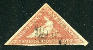Cape Of Good Hope Scott 1 UH-SCV $400.00