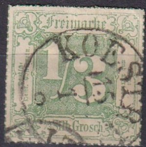Thurn & Taxis #28  F-VF Used  CV $600.00  (Z6923)