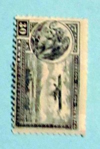 Mexico - C14, MNH. Coat of Arms and Plane. SCV - $0.25