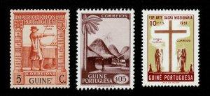 PORTUGUESE GUINEA SCOTT #234, #258, & #277 MNH-OG