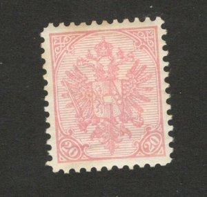 BOSNIA-AUSTRIA - MH OLD STAMP , 20h - HIGH CV - 1900.