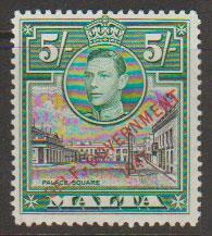 Malta SG 247 - George VI self Government Lightly Mounted Mint