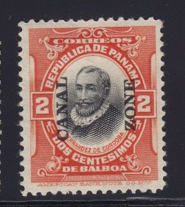 Canal Zone # 53 VF-XF OG previously hinged nice color cv $ 110  ! see pic !