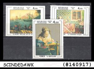 FRANCE - 1982 PAINTINGS - SCOTT#1931-33 - 3V - MINT NH
