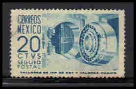 Mexico Used Very Fine ZA5550