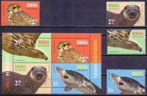 Romania. 2017. Fauna. MNH.