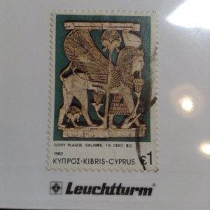 Cyprus  # 550  Used
