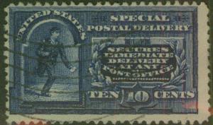 USA Scott E4 No Wmk 1894 CV $55
