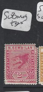 MALAYA NEGRI SEMBILAN  (P2005BB)  2C RED TIGER SG 8   MOG