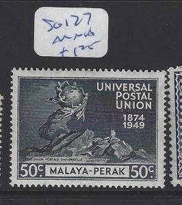 MALAYA PERAK (P1409B)  50C  UPU  SG 127   MNH