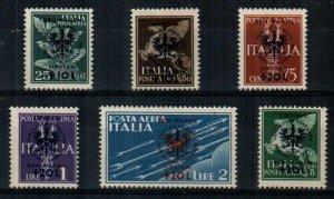 Yugoslavia Scott NB9-14 Mint hinged [TG217]