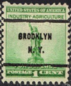 US Stamp #899x61 - Statue of Liberty Defense Issue Precancel