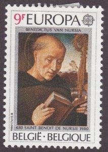Belgium 1052 St. Benedict 1980