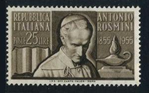 Italy 694.MNH.Michel 945. Antonio Rosmini,philosopher,death centenary,1955.