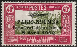 New Caledonia Paris Noumea #192 Mint F-VF ....French Colonies are Hot!