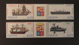 Italy MNH 1276a Ships 1977