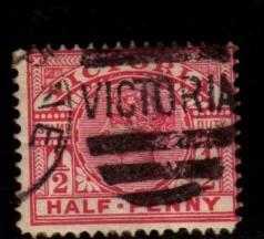 Australia - Victoria  #160A Queen Victoria  - Used