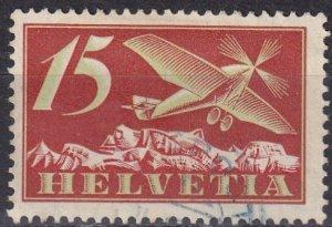 Switzerland #C30  F-VF Used  CV $6.25  (Z6172)