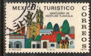 MEXICO 1014, TOURISM PROMOTION, SANCTUARY, OCOTLAN, TLAXCALA. USED  F-VF. (1250)