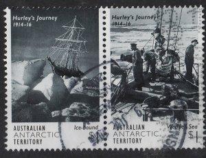 Australian Antarctic 2016 Imperial TransAntarctic Expedition1$ (2,5) Pair USED