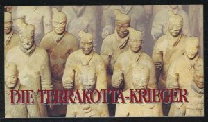 United Nations-Vienna 1997 China Terracotta Warriors booklet Sc# 232 NH