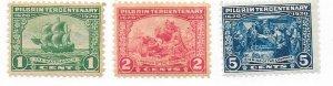 US#548-549 Pilgrim Tercentenary Issue (MH) CV$38.75