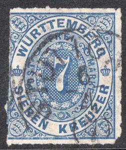 WURTTEMBERG SCOTT 50