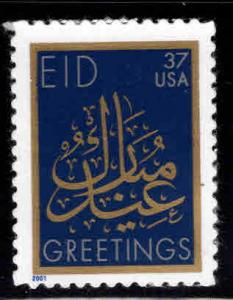 USA Scott 3532 MNH** Eid Mubarak self adhesive stamp