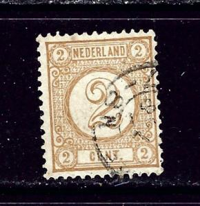 Netherlands 36 Used 1894 issue